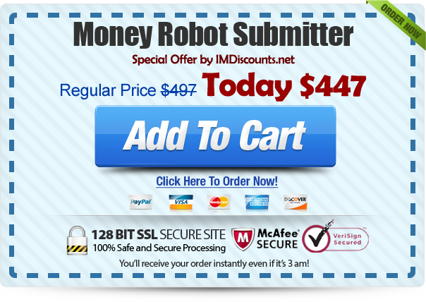money robot discount